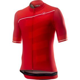 Castelli Trofeo Maglietta a maniche corte Uomo, red/fiery red